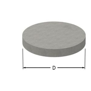 Brunnslock i betong